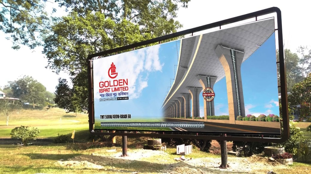 Leading business conglomerates are informed by looking at the billboard